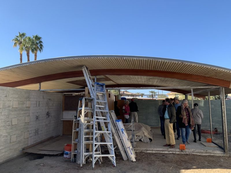 The uncompleted Wave House in Palm Desert