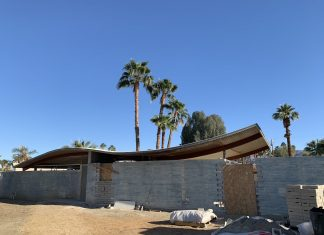 The Walter White Wave House in Palm Desert