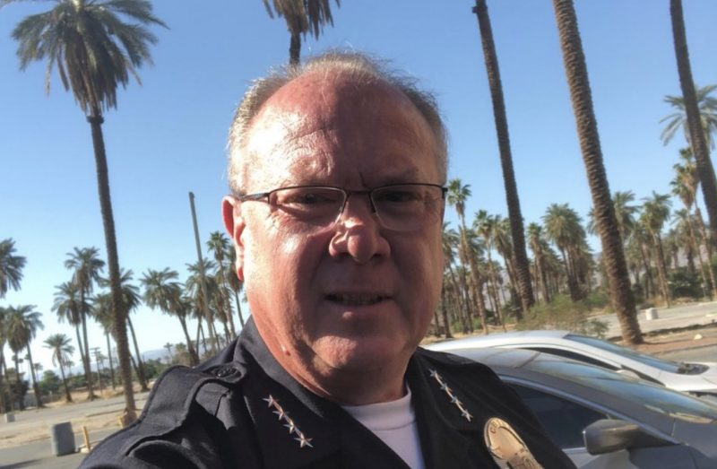 Desert Hot Springs Chief of Police Dale Mondary has resigned