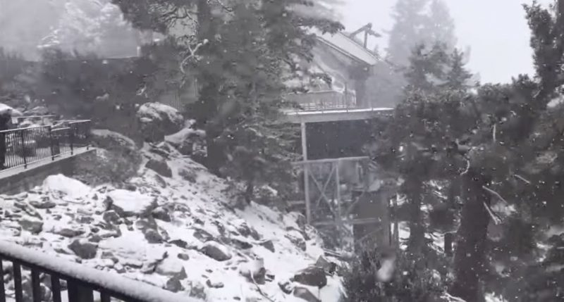 Damn, dude. Check out the Palm Springs Aerial Tramway!