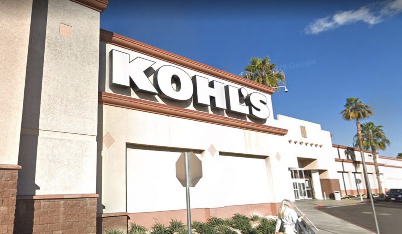 You best not try shoplifting at the La Quinta Kohl's