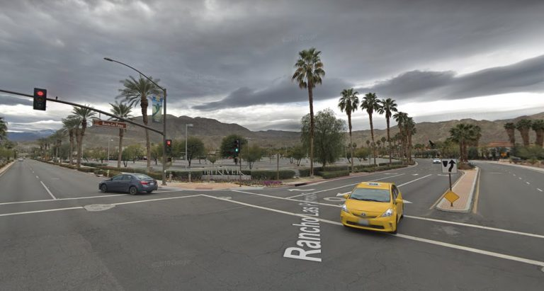 Woman struck by vehicle near the River in Rancho Mirage