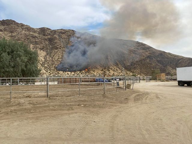 Fire crews continue to battle fire breaks in Southridge area of Palm Springs